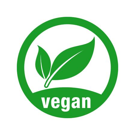 icon for vegan food Stock Illustratie