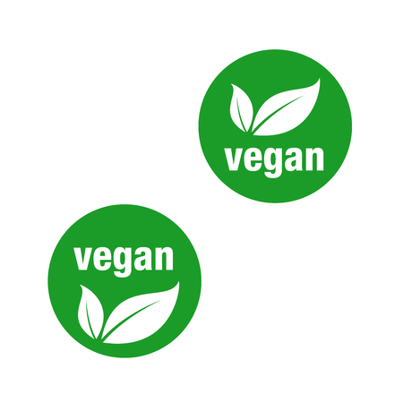 Vegan icon