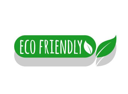 Umweltfreundliches Logo