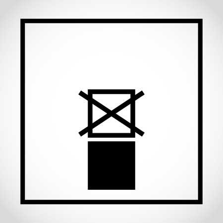 Do not stack icon on white background