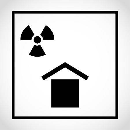 Protect from radioactive sources, PACKAGING - PICTORIAL MARKING FOR HANDLING OF GOODS (ISO) â €