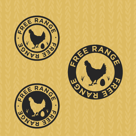 Logo to define foods from non-caged hens, free range, cage free