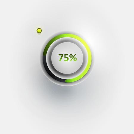 Vector user interface scanning element Stock Vector - 15853852