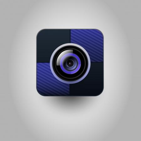 User interface  camera icon  Vector