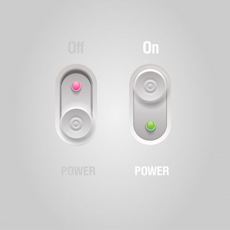 User interface switchers Vector