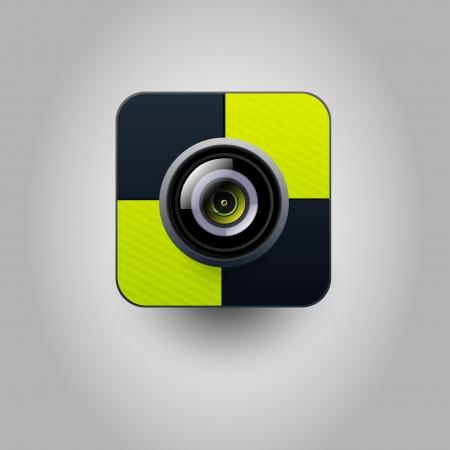 Camera icon Stock Vector - 20299177