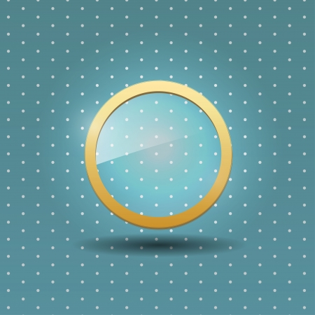 UI glass icon Stock Vector - 20571500