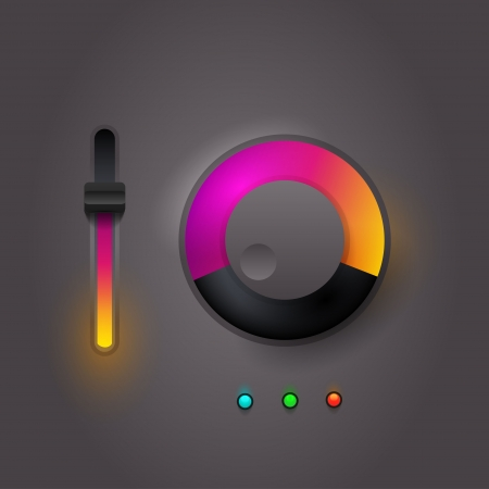 User interface scanning elements  Vector