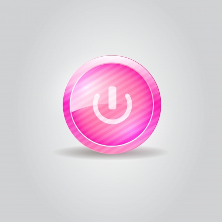 User interface switch button Vector