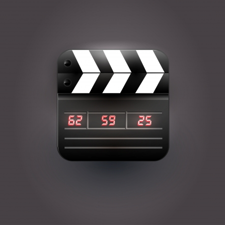 User interface clapboard icon Stock Vector - 20846930