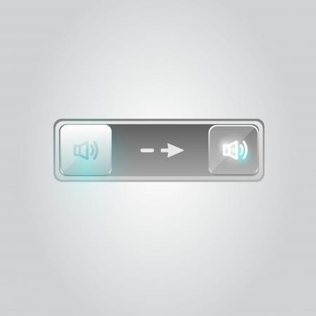 User interface unlock icon Vector