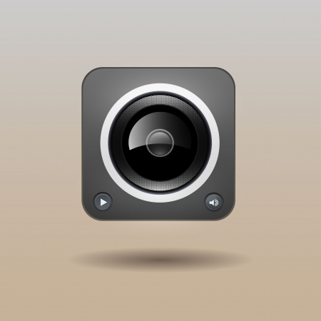 User interface speaker icon  Vector