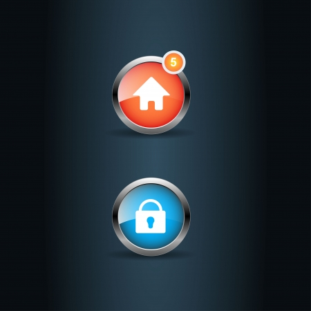 User interface icons  Vector