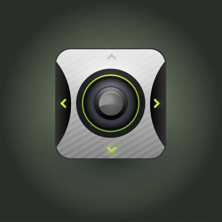 User interface web control icon  Vector