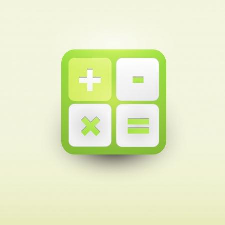 User interface calculator icon Stock Vector - 21314224