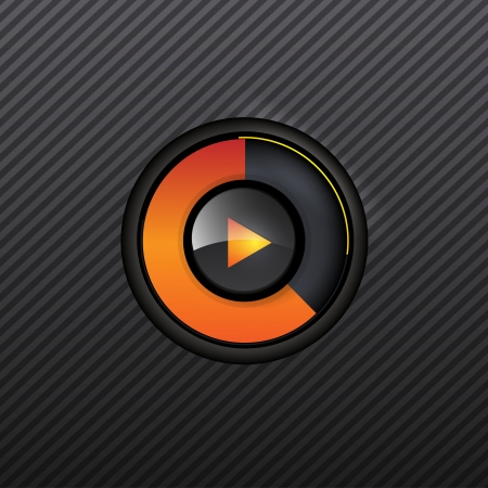 scanning: User interface scanning element for media player  Illustration
