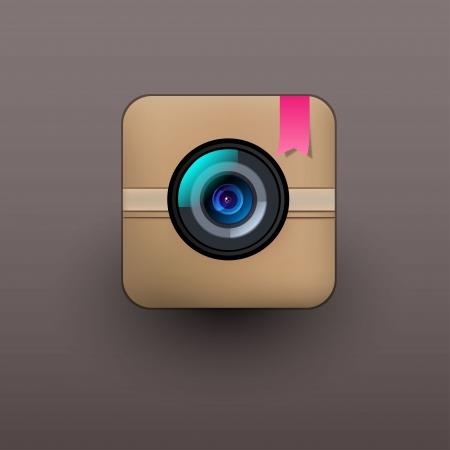 User interface camera lens icon  Stock Vector - 21314315