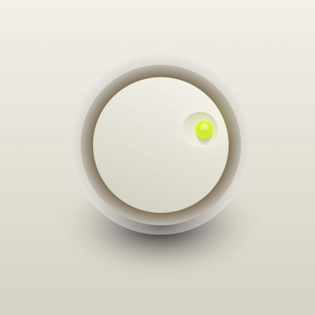User interface scanning knob  Vector
