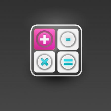 User interface calculator icon Stock Vector - 21314321