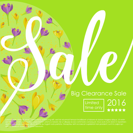 Spring Sale Clearance  Poster