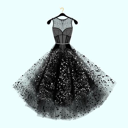 Beautiful party dress.