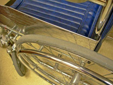 Close-up of wheelchair Stock fotó - 380080