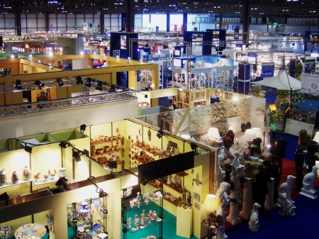 beursvloer: Macef beurs, Fiera di Milano, Milaan, Italië