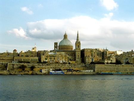 Malta, View of Valletta