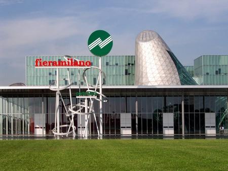 expositor: Feria de Milán de negocios centro de exposiciones, Milán, Italia