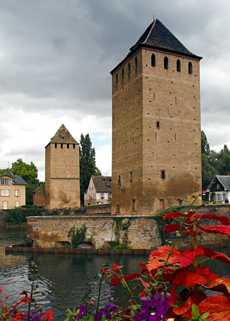 Petite France, Old Town Strasbourg, Alsace, France