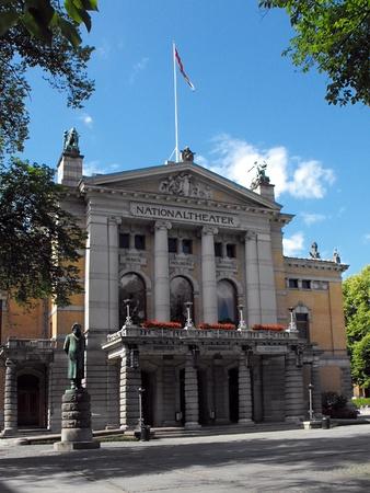 National Theatre, Oslo, Norway