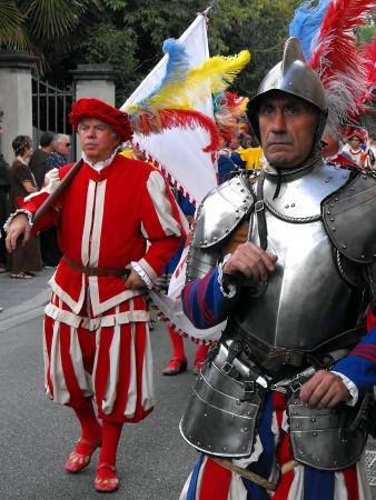 Renaissance Festival in Florence, Italy, September 2010