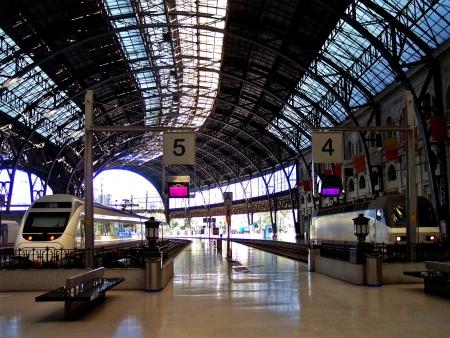Estacio de Francia Barcelona train station, Spain