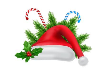 illustration vectorielle dédiée à Noël