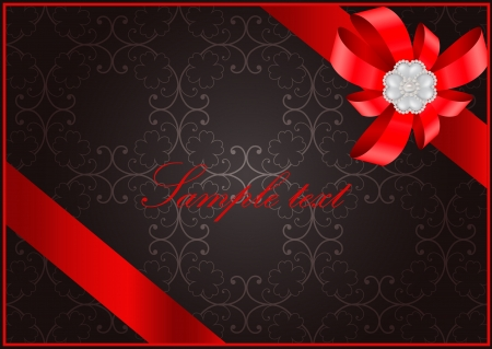 saint valentine   s day: vector vintage Saint Valentine s Day greeting card