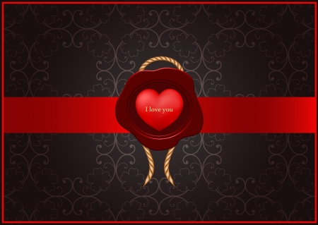 vector valentine greeting card Vector