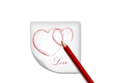 saint valentine s day: vector Saint Valentine s Day greeting card