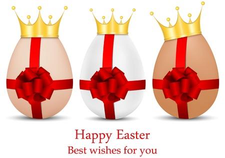 vector set of luxury Easter eggs Stock Vector - 17667058