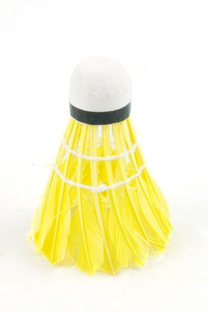 attributes: colorful badminton sports attributes isolated on a white background