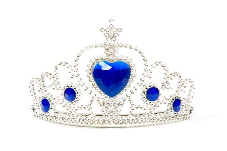 Photo of a Tiara Crown isolated on a white background
