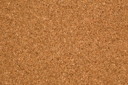 brown cork: background of an empty memo board