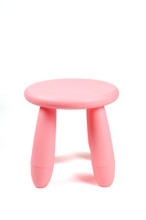 An isolated chair on white background Stock Photo