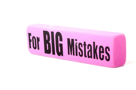 for big mistakes Stock Photo