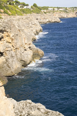 view in Cala pi Mallorca Stock Photo