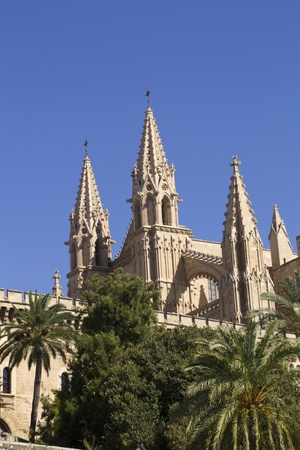 cathedral in La Palma, Mallorca Stock Photo - 11164544