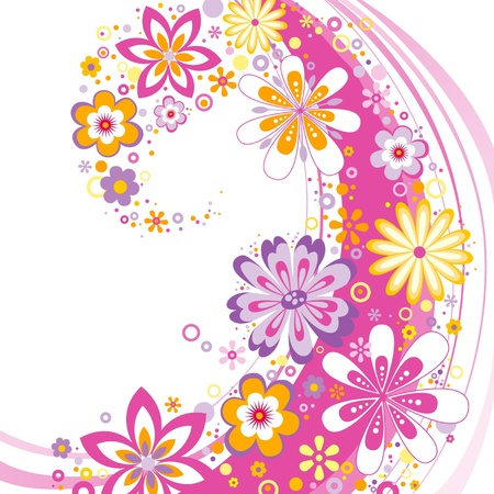 flower background  Stock Vector - 11590516