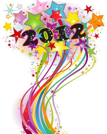 салют: Иллюстрация - Новый год салют Иллюстрация