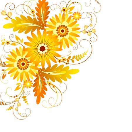 Flower background Banco de Imagens - 13241866