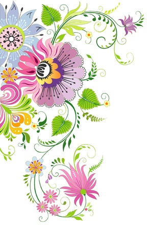 Flower background Stock Vector - 13330632