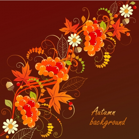 autumn background 일러스트